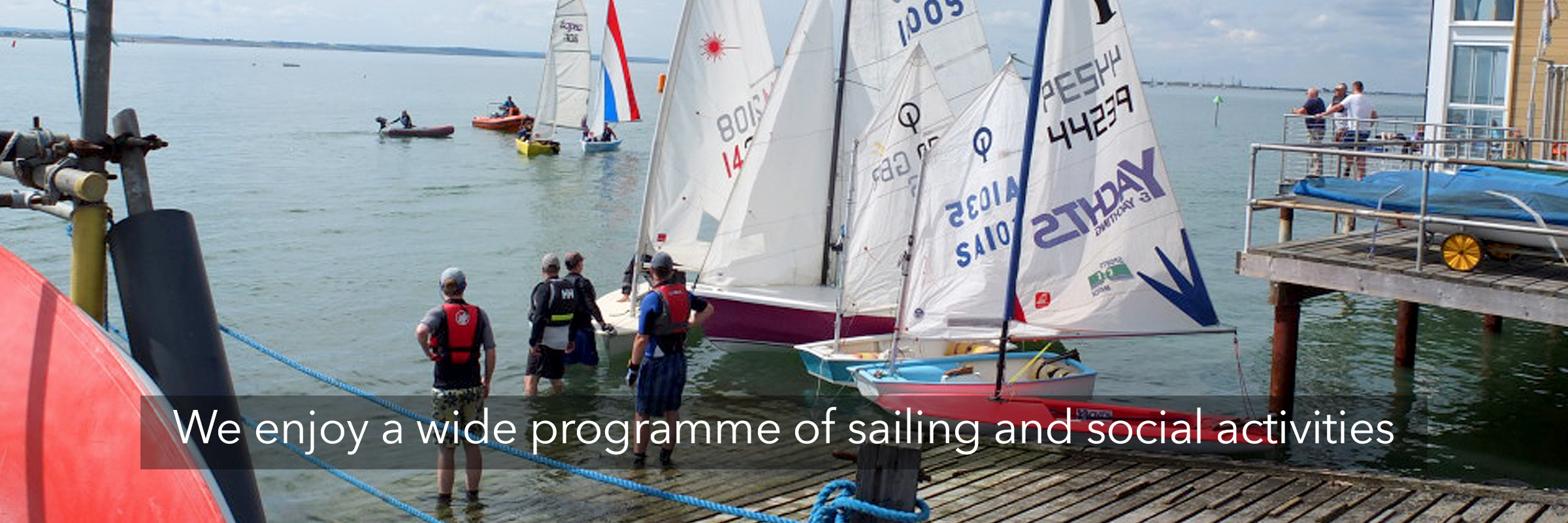 Permalink to:We enjoy a wide programme of sailing and social activities
